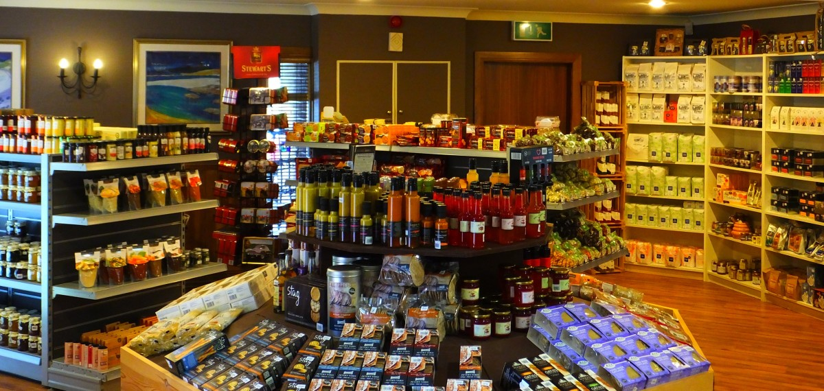 Taste Perthshire food hall panoramic