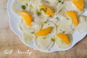 Fennel and Orange Salad with a Lemon Dressing