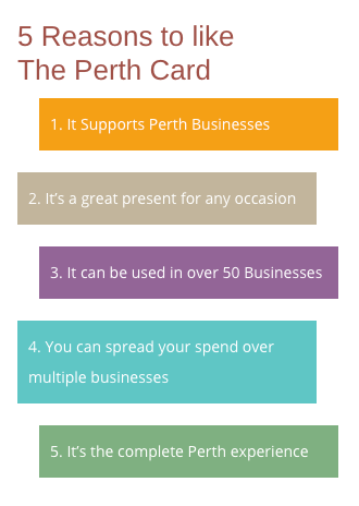 Perth Card reasons to like