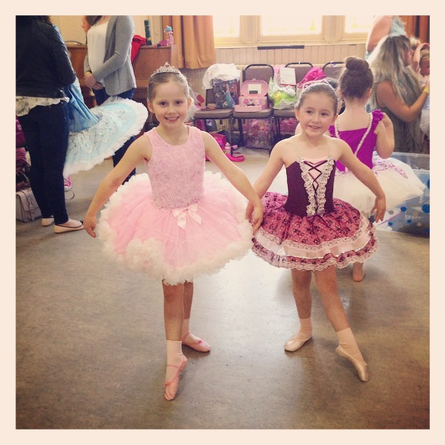 Inspire Studio ballet girls