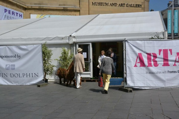 A large exhibition of Contemporary Scottish Art and Craft