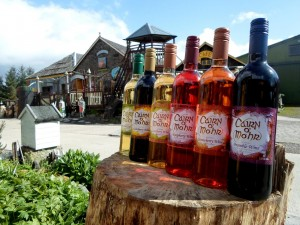 The Strangeness of the Cairn O' Mohr Winery