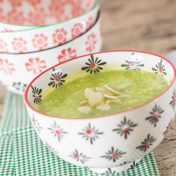 Early spring green soup, bowl 2