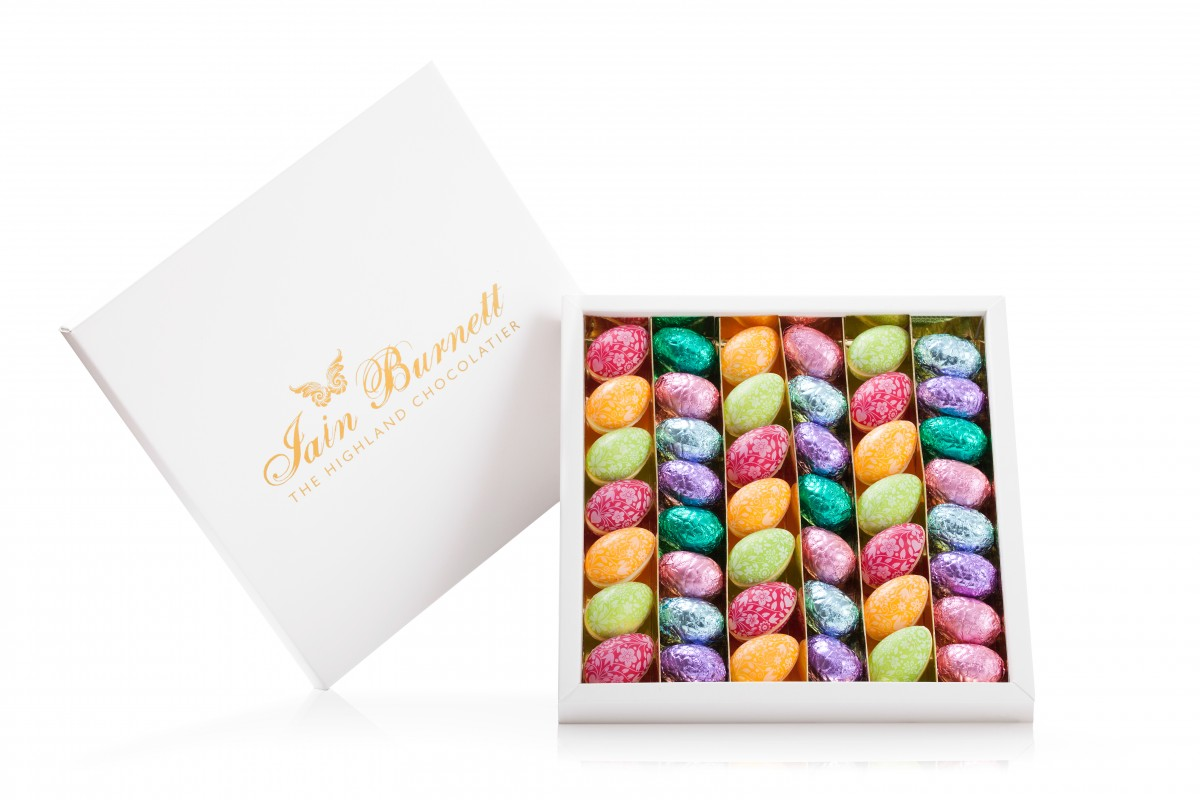Highland Chocolatier Easter mini eggs