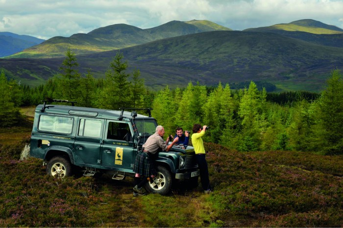 Highland Safaris Land Rover Safari