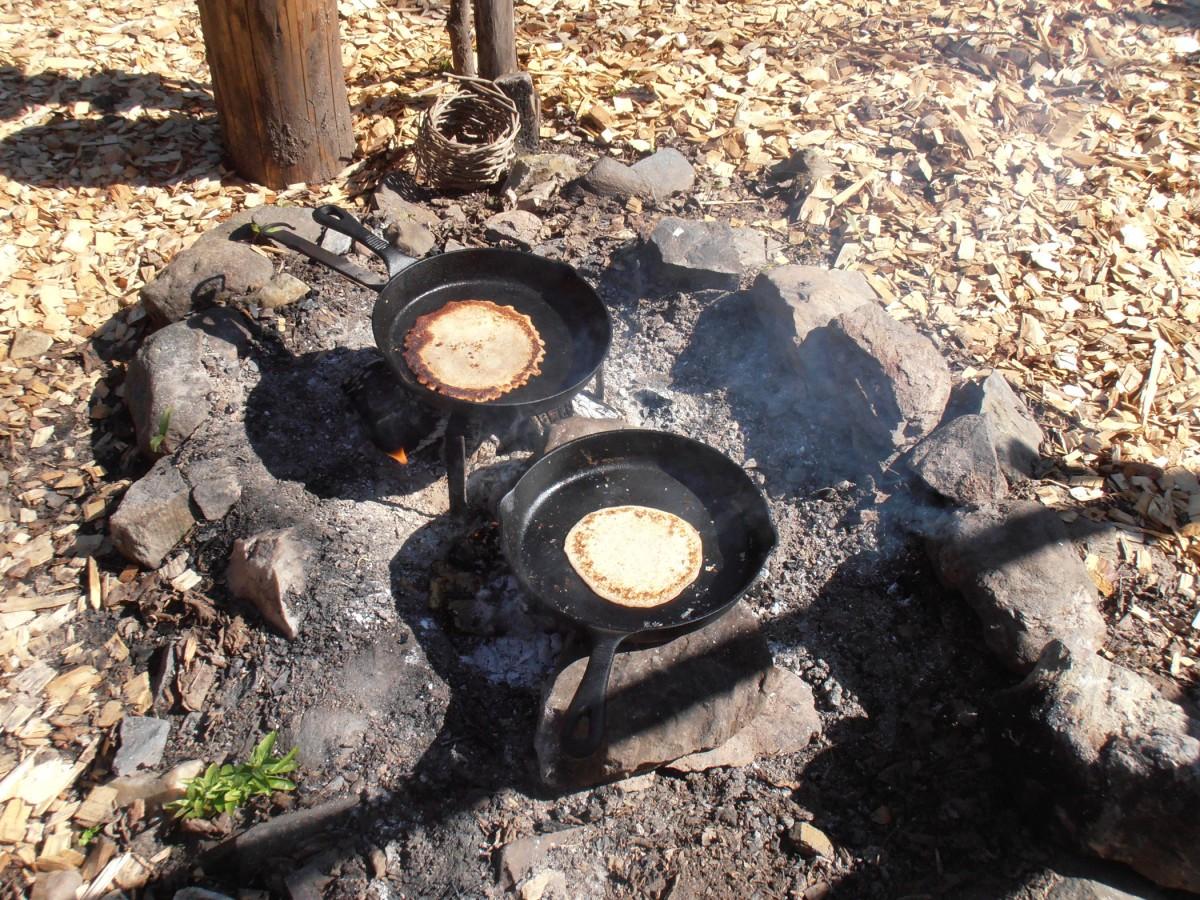 Easter Crannog pancakes