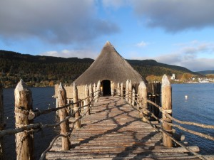 Crannog Centre bridge