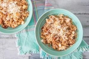Cod and Chorizo Risotto