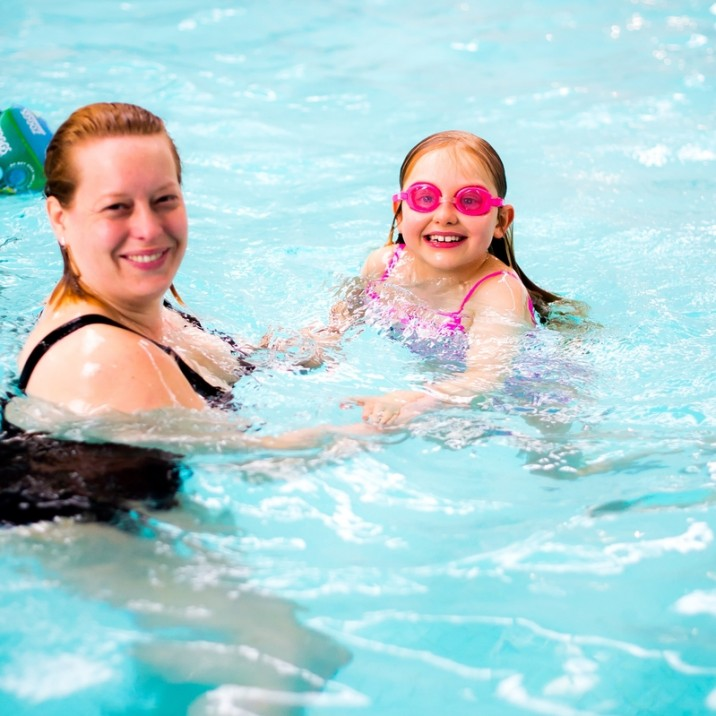 Swimming at Perth Leisure pool is a great day out for all the family.