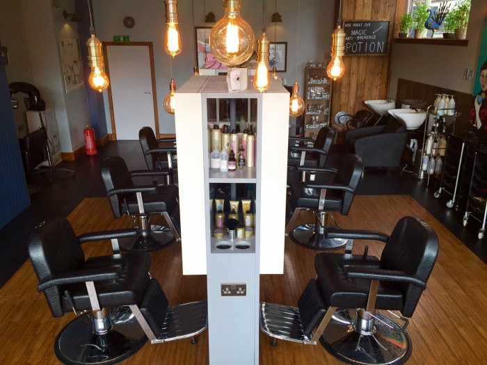 RAE PEACOCK - Overview of new salon
