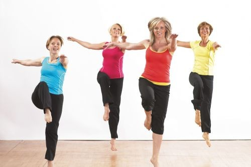Get Fit Fitness Lady aerobics