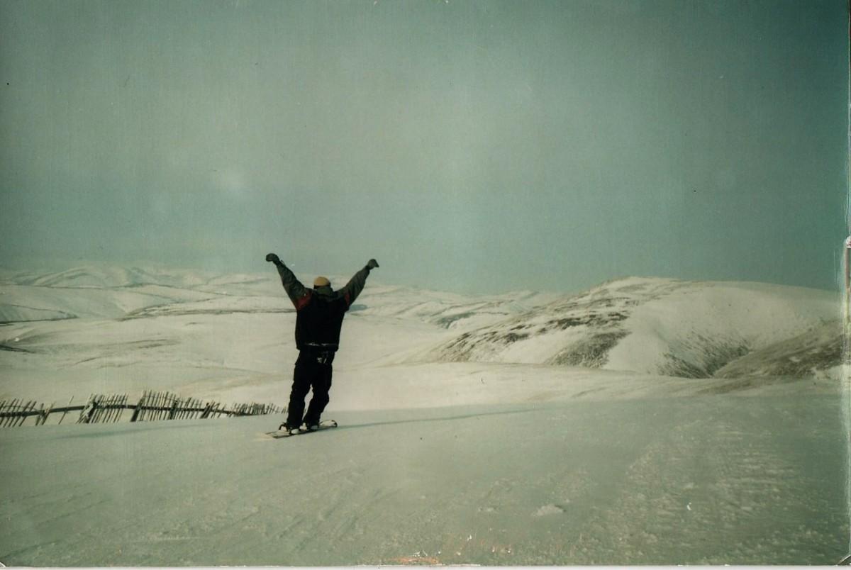 GRAHAM snowboard
