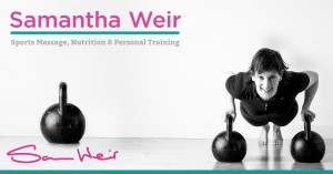 Get Fit Sam Weir logo with signature