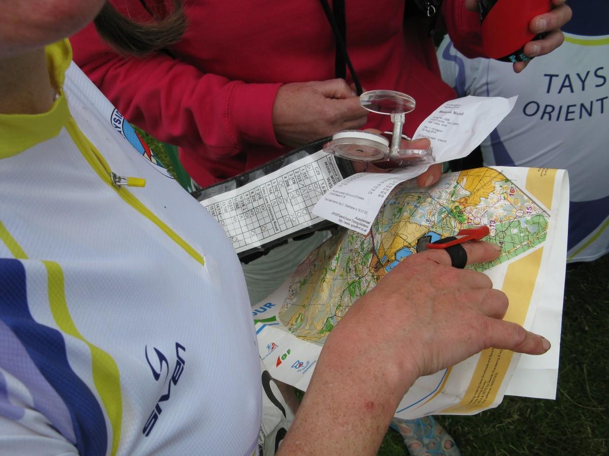 Outdoor Adventures Orienteers map