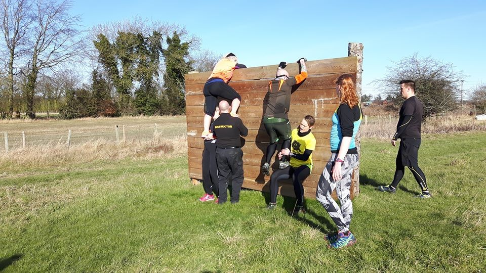 Outdoor Adventures Scottish Assault Course panel wall