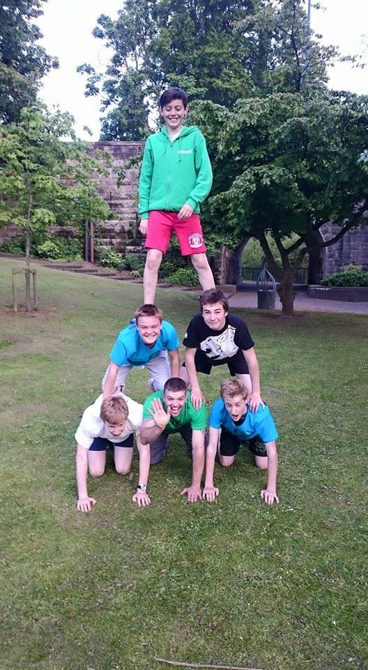 Outdoor Adventures Perthshire Free Runners pyramid