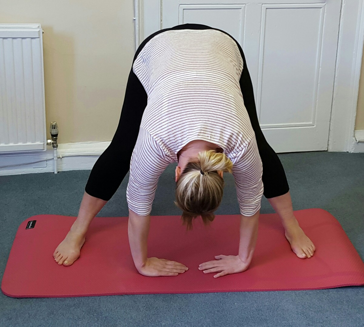 YOGA- downward pose