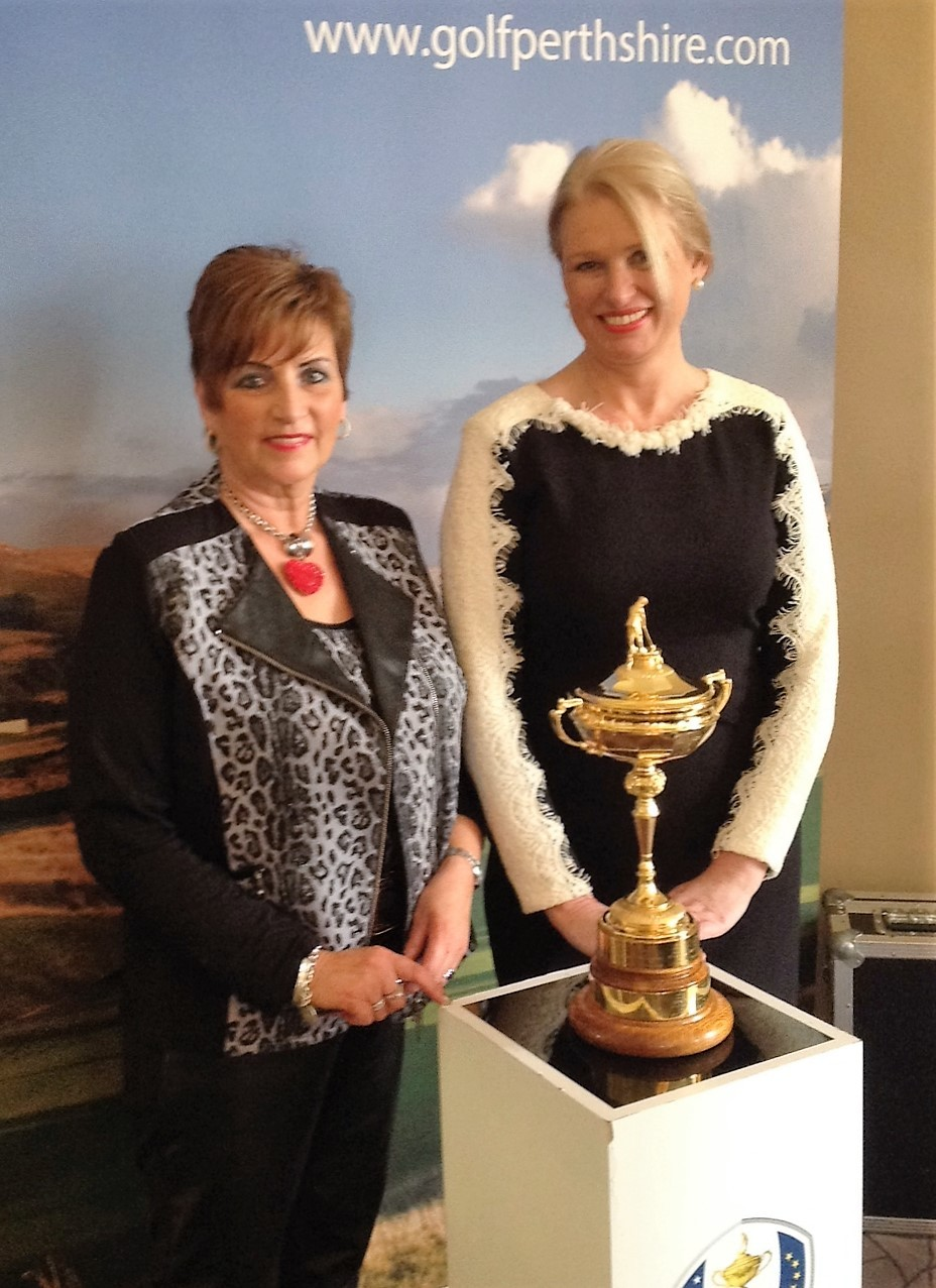 MARIAN Gleneagles Ryder Cup