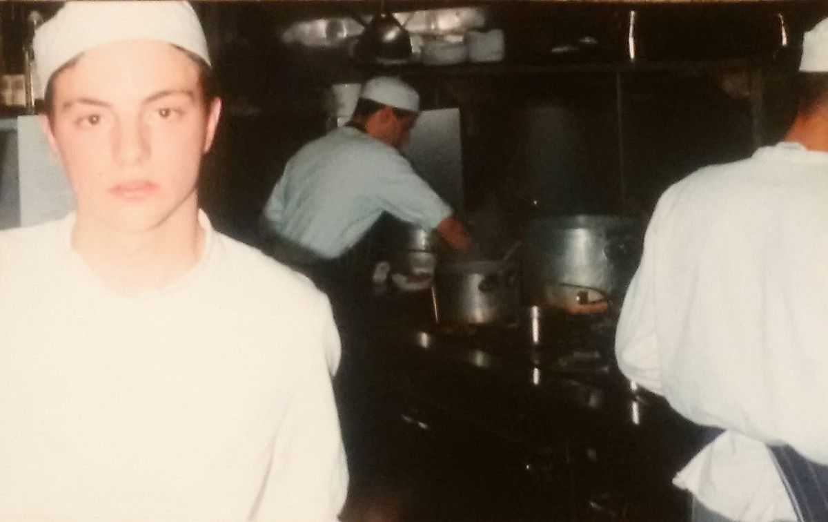 PALLISTER - As a young Chef