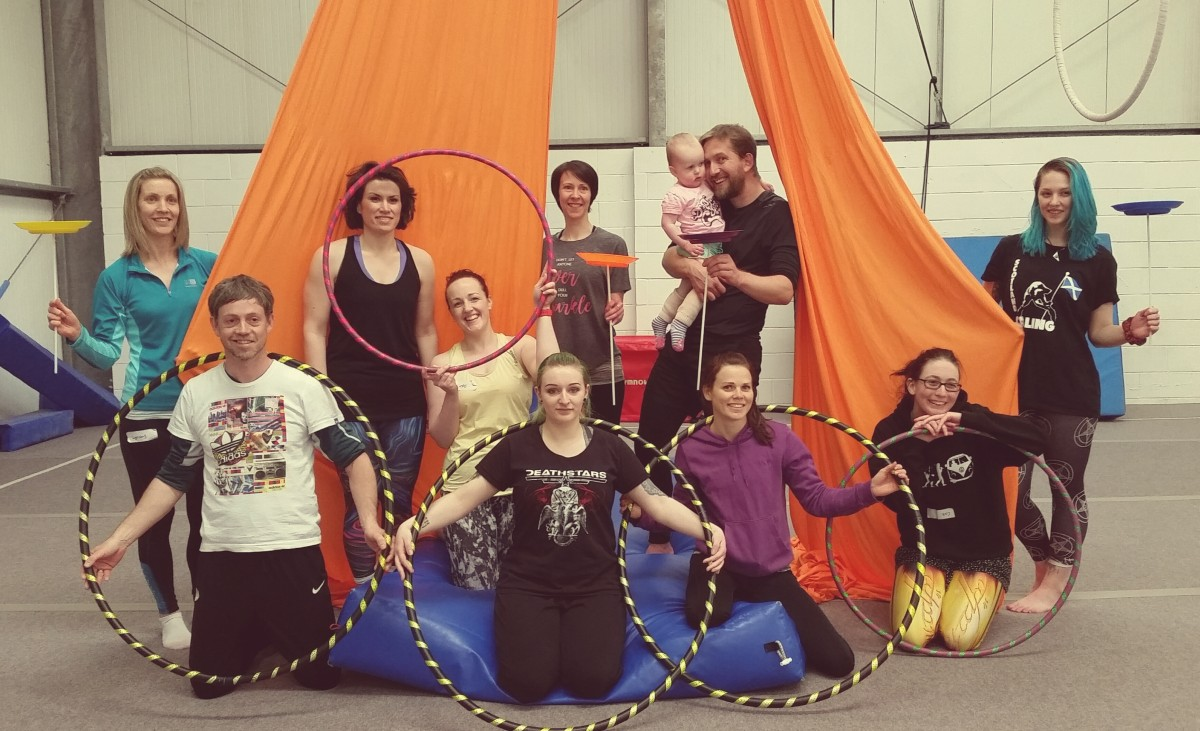 Adventure Circus group pic