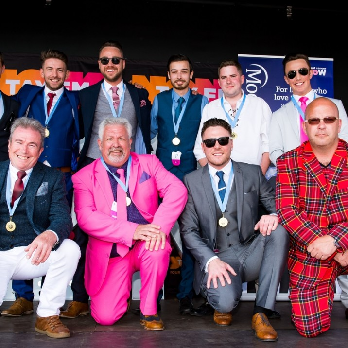 It wasn't only about the ladies, check out all these well dressed men that were finalist for best dressed male at the races 2016!