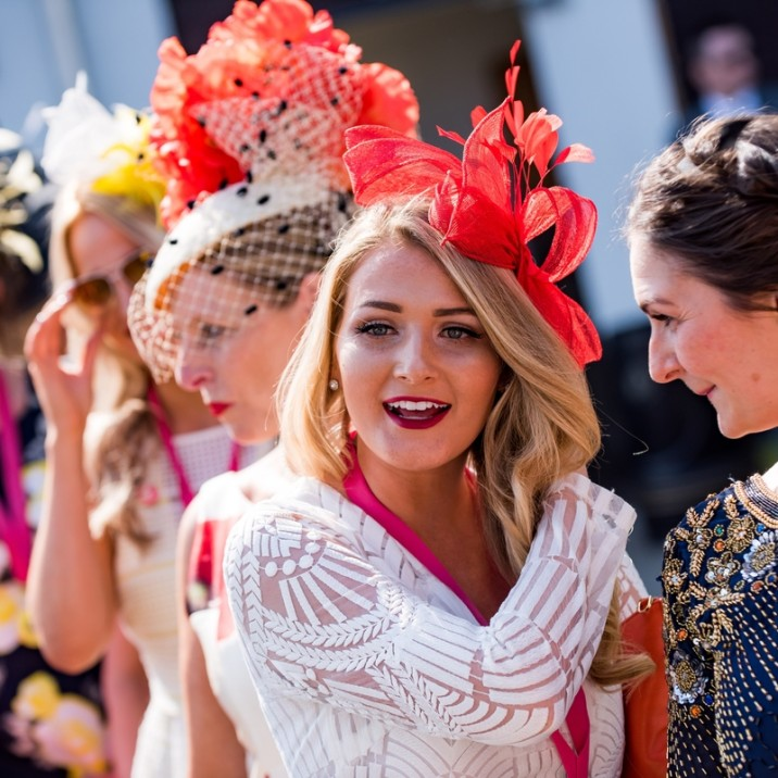 The hats were on for a great sunny day at  Perth Racecourse's Ladies day!