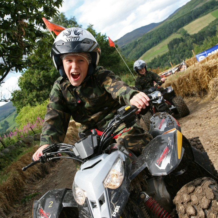 Located in the heart of Perthshire on a 900 acre estate, Action Glen is Scotlands premier adventure centre. From Aloft! Tree Top adventures, Scotlands largest fleet of Segways and even watersports at Loch Earn. There's something for families and adventurers alike.