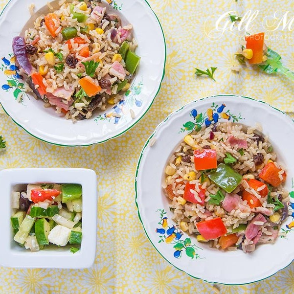 This week's #SmallCityRecipe is a delicious and fun crazy rice.  This dish is really nutritious and quick and easy to make.  Perfect to do with the kids in the summer holidays.