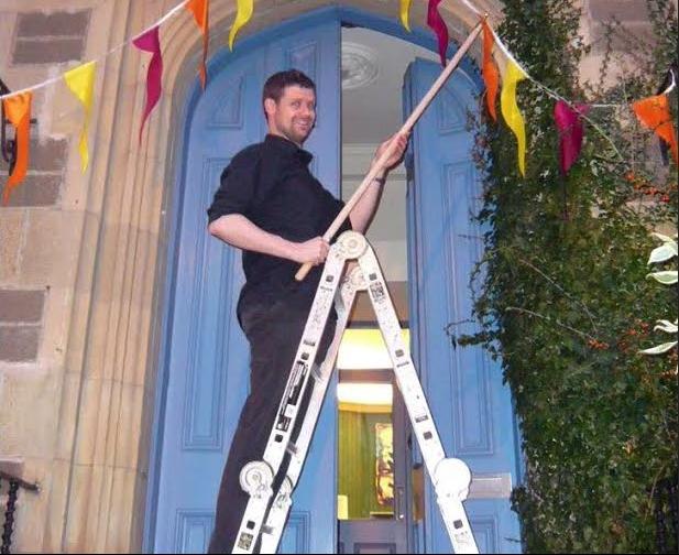 JAMES IRVINE - Landscape Ladder Pic