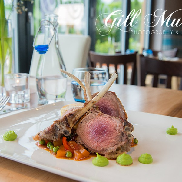 Gill Murray visited the Uisge Restaurant in Murthly.  Their rack of lamb with Dauphinoise Potatoes and Seasonal Bean Cassoulet is a delicious recipe.