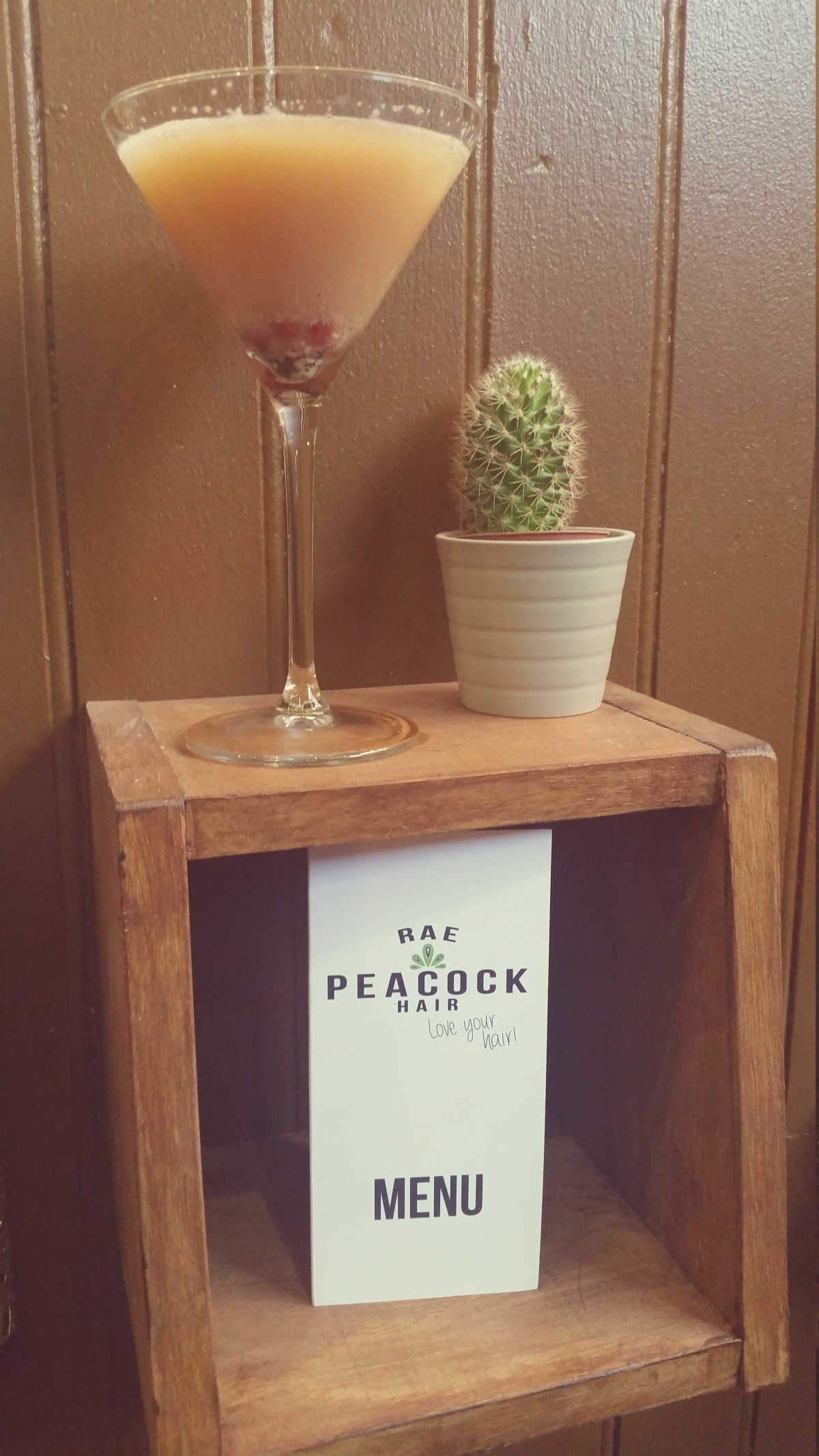 Rae Peacock cocktail