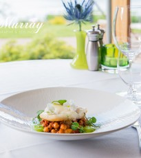 Turbot & Chorizo Stew with Curried Courgette Foam