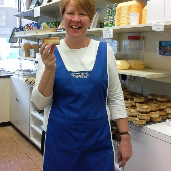 Linda Hill from Murrays the bakers makes the holy grail of pies - The Award Winning Murray's Pie!  Murrays the bakers is a 4th generation business and will celebrating over 100 years in the business this year.