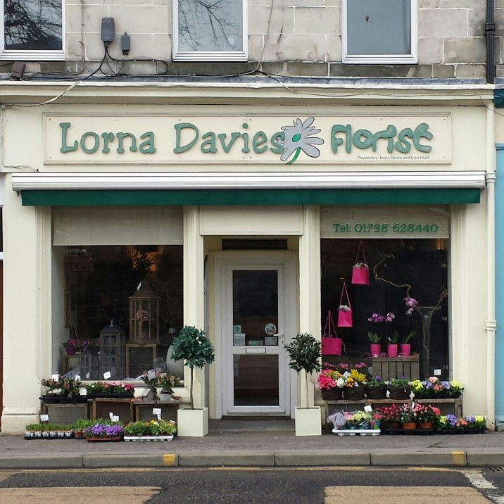 Lorna Davies is one of the leading florists in Perth and offers a range of services from weddings, special occasions and funerals they can make and deliver a bouquet for any occasion.