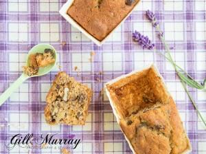 Banana And Lavender Loaf