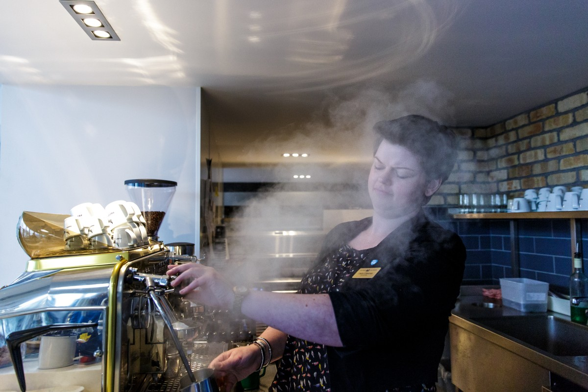 Laura Cameron - Making Coffee