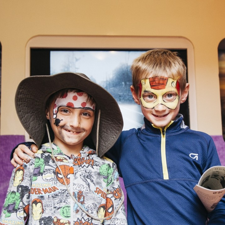 The Crafting the Past:Minecraft at the Atholl Palace Musuem in Pitlochry was a massive success.  With Facepainting, horse and cart and of course a minecraft interactive version of the musuem.  It was a full day of fun!