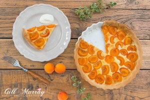 Rustic French Apricot Tart