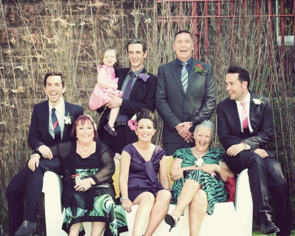 SUZI SMITH - family wedding pic