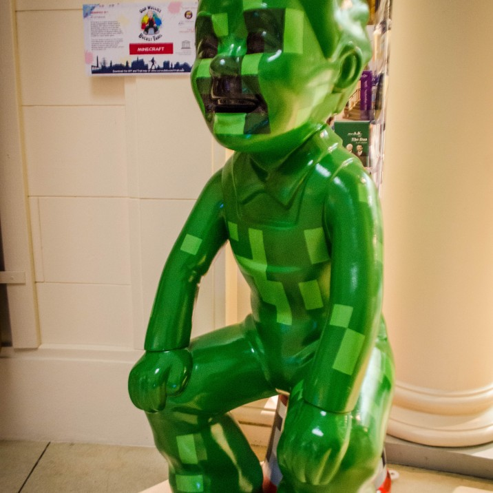 �finders creepers� otherwise known as Minecraft Wullie by Michael Hanson and Kate Wright from 4J studios.