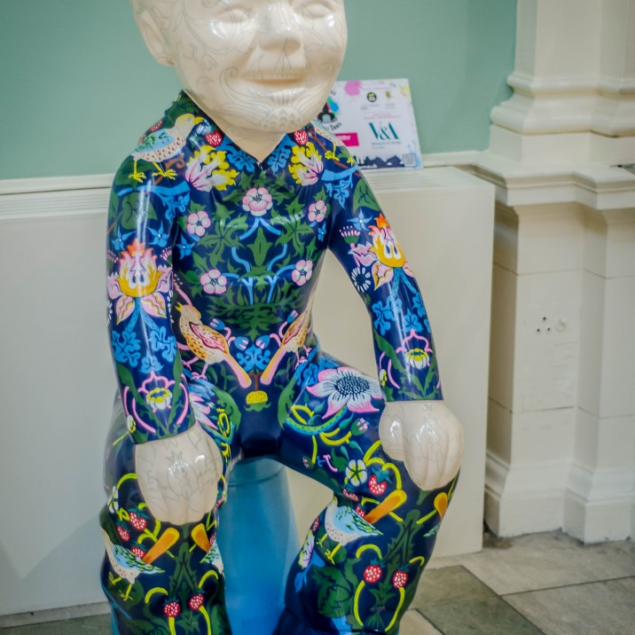 "�strawberry thief"" By Ellen Brown