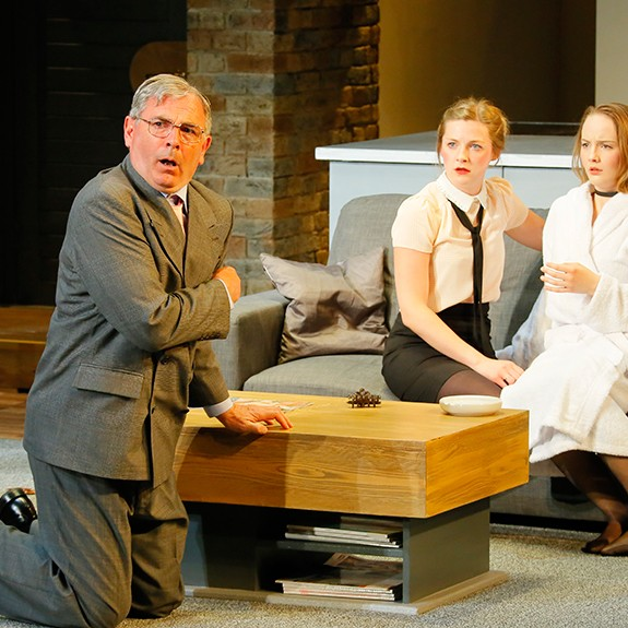GamePlan at Pitlochry Festival Theatre is a dark comedy and will have you gripped from the start to the finish.