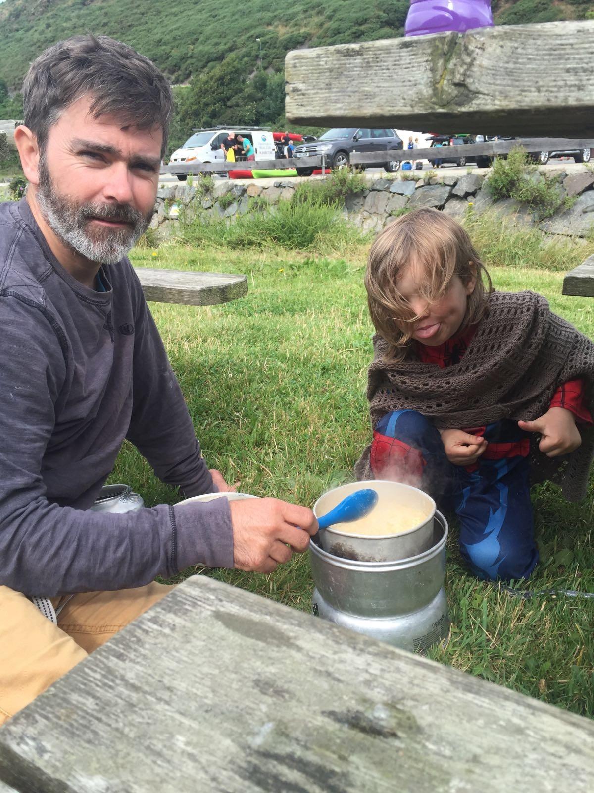 MARK PERRY - making porridge