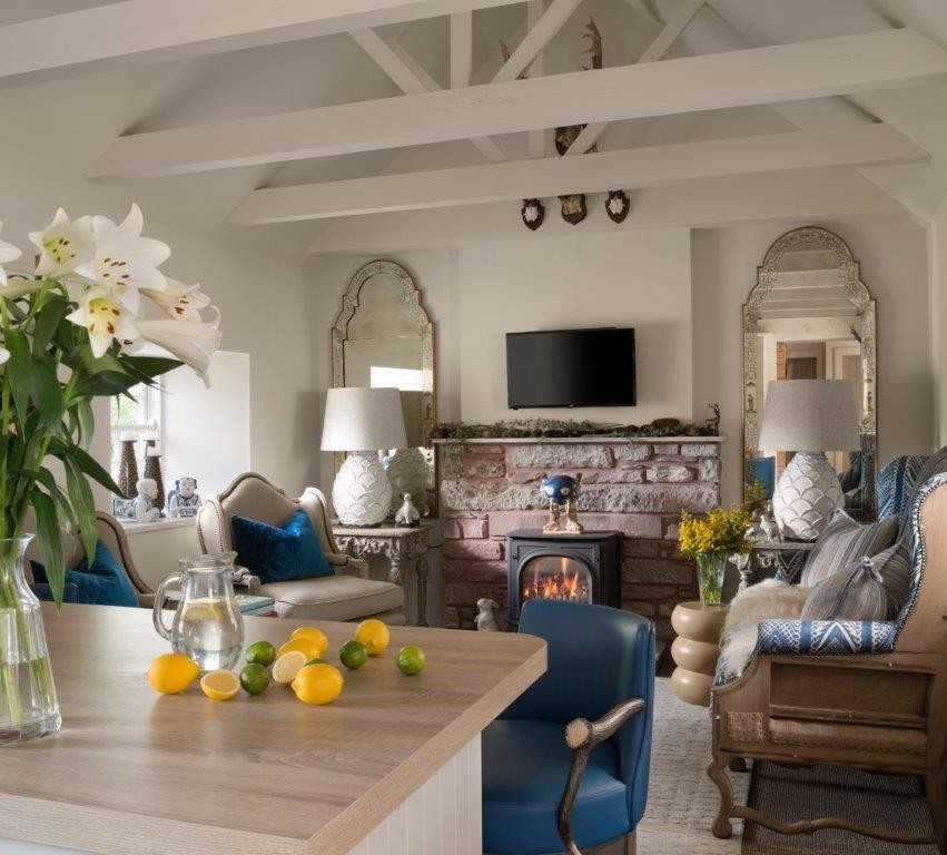 Jeffreys Interiors Cottage Livingroom
