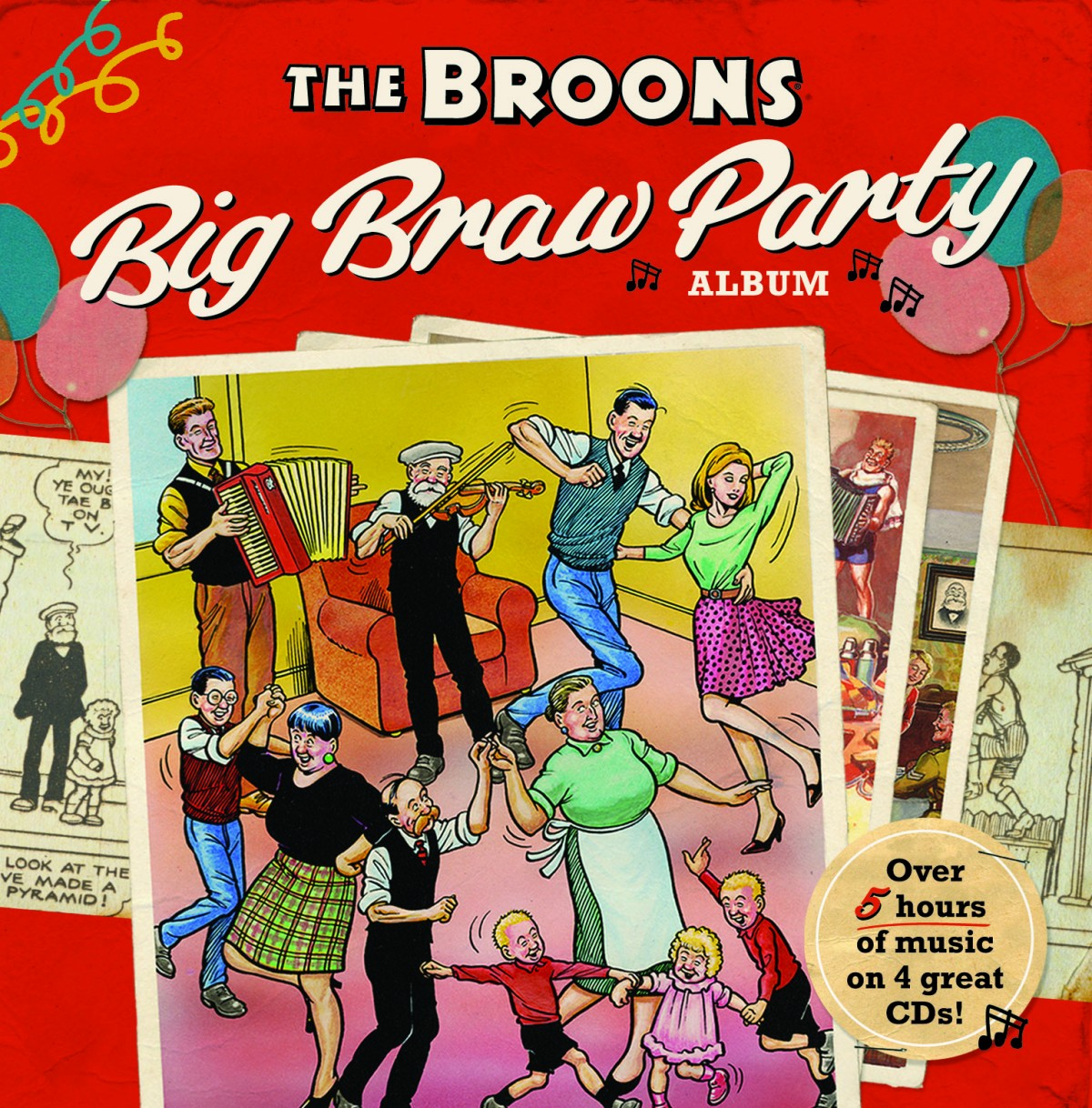 The Broons the braw party albumn