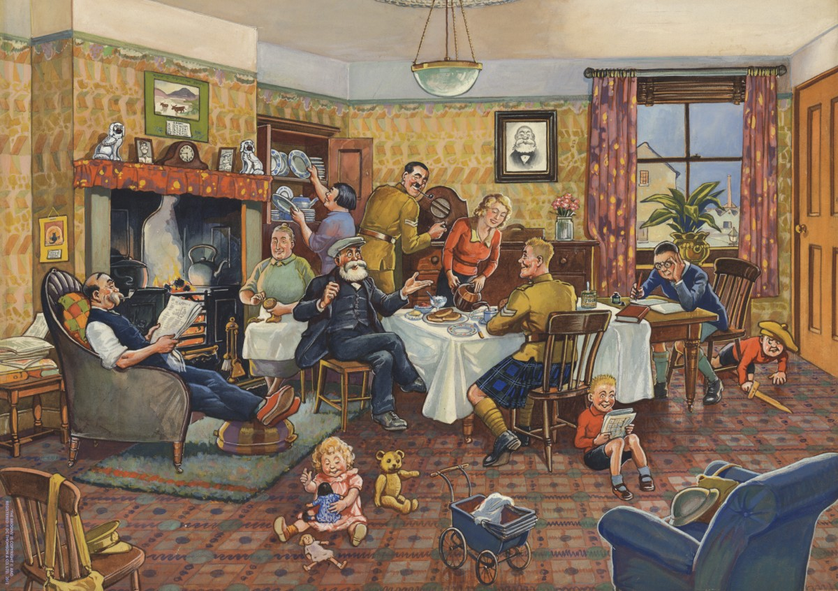 The Broons sitting room