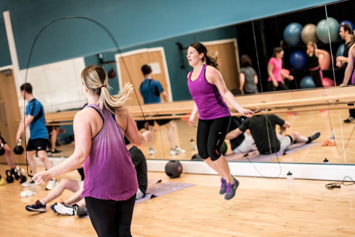 Fitness Circuits skipping