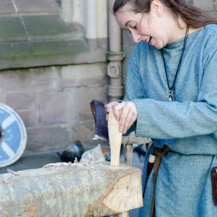 Perth went back in time as it celebrated 750 years since the treaty of Perth was signed.  It celebrated both Scots and Norse culture and history.