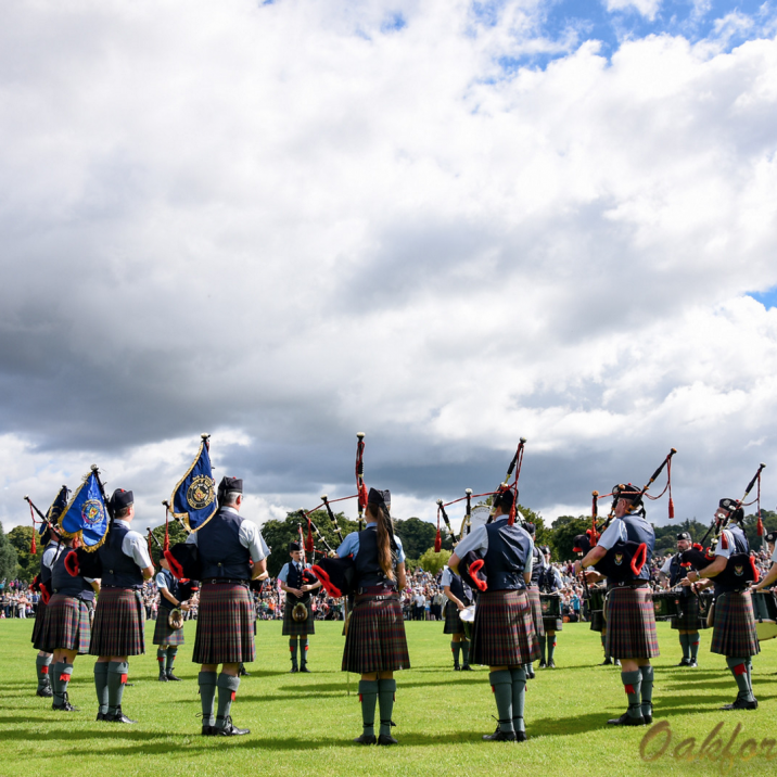 It was a perfect day in Perth for the Royal Edinburgh Military Tattoo in Perth North Inch as part of the Treaty of Perth Celebrations