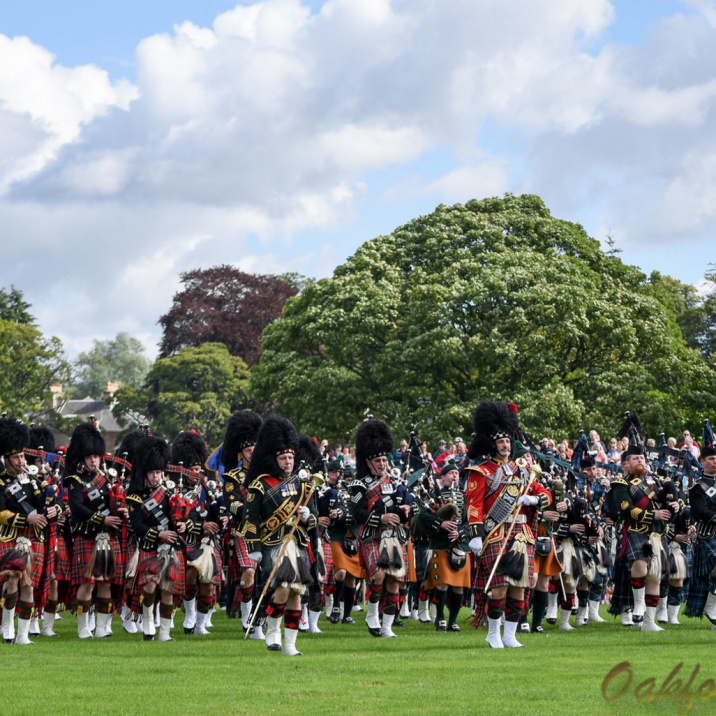 The Royal Edinburgh Military Tattoo marched down Tay Street then did a wonderful display on the North Inch in Perth.